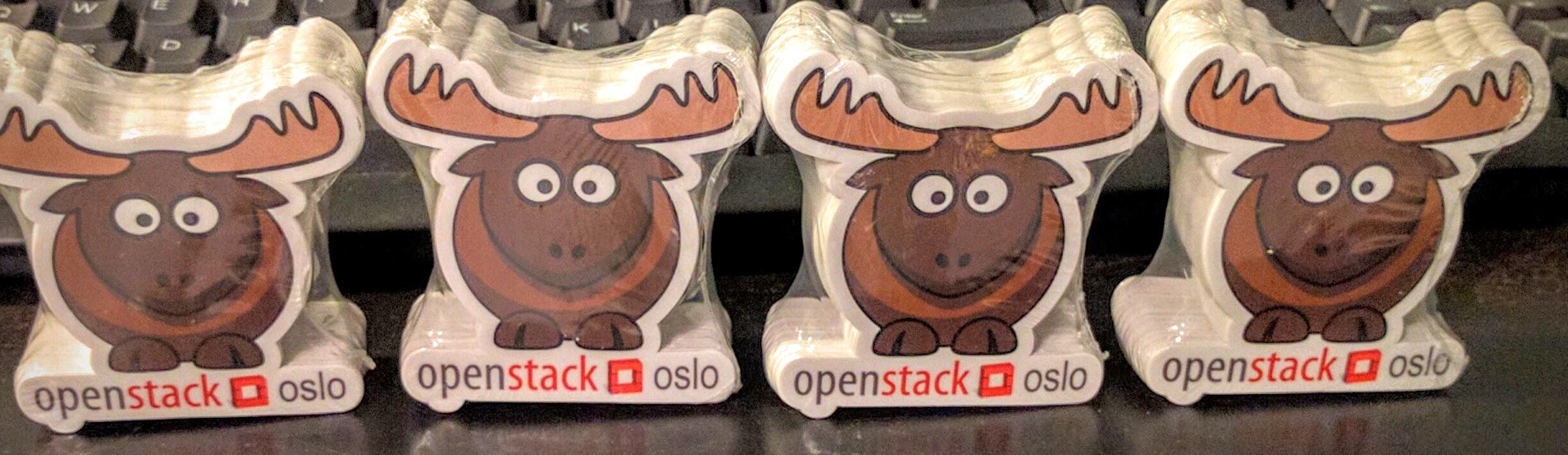 OpenStack Oslo Stickers - Austin 2014