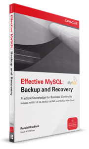 Effective MySQL - Backup and Recovery book by Ronald Bradford